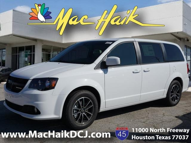 New 2019 Dodge Grand Caravan Se Plus Passenger Van In Houston