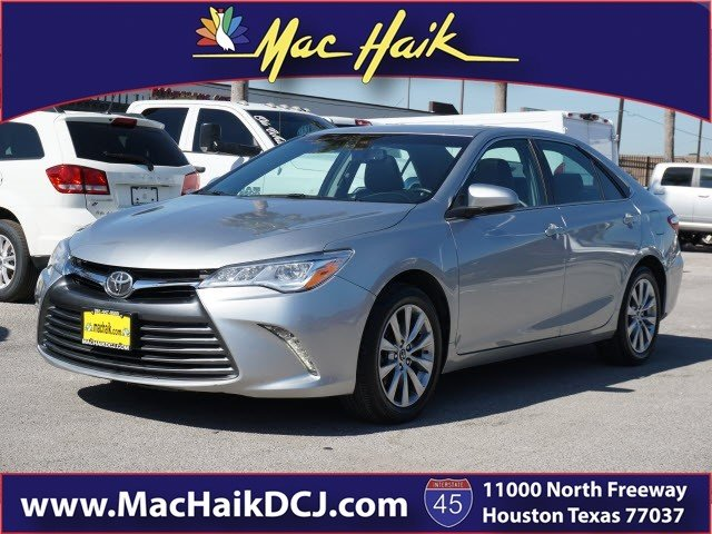 Pre Owned 2015 Toyota Camry XLE Sedan in Houston P